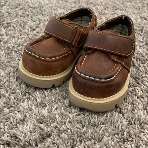 Gymboree baby boy boat dress shoes